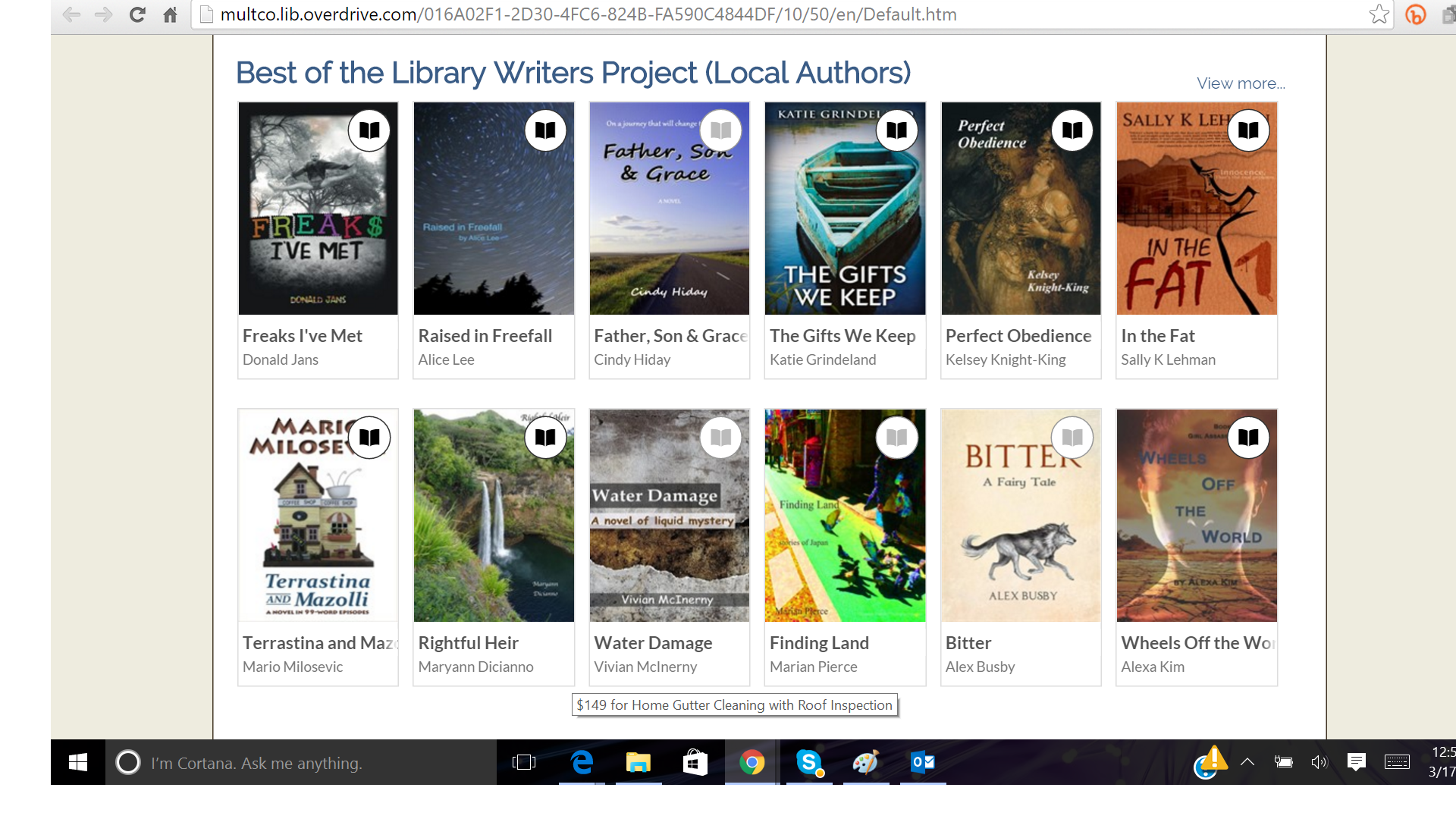 Best of Multnomah Writers Library Project